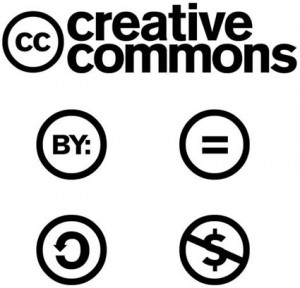 شعارات رخصة المشاع الإبداعي