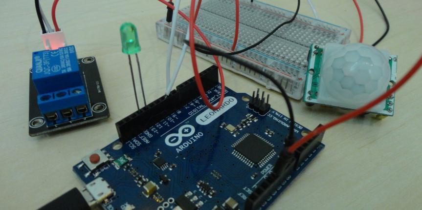 اردوينو | التحكم بالدارة الكهربائية باستخدام مستشعر الحركة