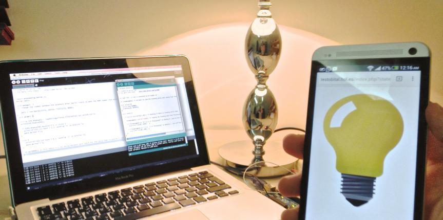 اردوينو   التحكم بالاجهزة الكهربائية عن طريق الانترنت